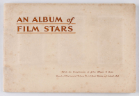 """1934 Players """"Film Stars"""" Complete Set of (50) Cigarette Cards with Gary Cooper, CLark Gabley, Johnny Weissmuller, Katherine Hepburn with Original Album at PristineAuction.com"""