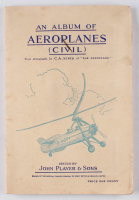 """1936 Players """"Aeroplanes"""" Complete Set of (50) Cigarette Cards with Original Album at PristineAuction.com"""