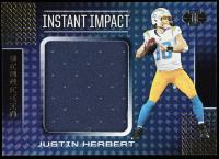 Justin Herbert 2020 Panini Illusions Instant Impact Jerseys #3 at PristineAuction.com