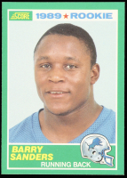 Barry Sanders 1989 Score #257 RC at PristineAuction.com