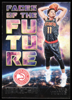 Trae Young 2018-19 Hoops Faces of the Future #5 at PristineAuction.com