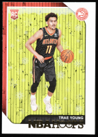 Trae Young 2018-19 Hoops Winter #250 RC at PristineAuction.com
