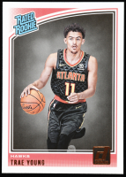 Trae Young 2018-19 Donruss #198 RR RC at PristineAuction.com