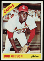Bob Gibson 1966 Topps #320 at PristineAuction.com