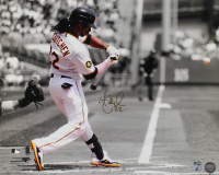 Andrew McCutchen Signed Pirates 16x20 Photo (MLB Hologram & Fanatics Hologram) at PristineAuction.com
