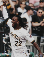 Andrew McCutchen Signed Pirates 16x20 Photo (MLB Hologram & Fanatics Hologram) at PristineAuction.com