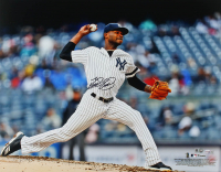 Domingo German Signed Yankees 16x20 Photo (MLB Hologram & Fanatics Hologram) at PristineAuction.com