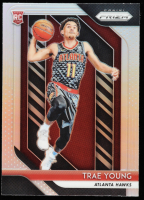Trae Young 2018-19 Panini Prizm Prizms Silver #78 at PristineAuction.com