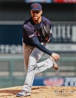 Corey Kluber Signed Indians 16x20 Photo (MLB Hologram & Fanatics Hologram) at PristineAuction.com