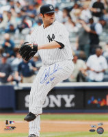 "Joba Chamberlain Signed Yankees 16x20 Photo Inscribed ""Joba Rules"" (Steiner COA, MLB Hologram & Fanatics Hologram) at PristineAuction.com"