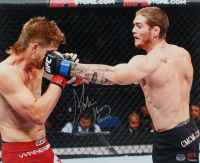 "Jordan Mein Signed UFC 16x20 Photo Inscribed ""Young Gun"" (Fanatics Hologram) at PristineAuction.com"
