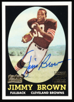 Jim Brown 2001 Topps Team Topps Legends Autographs #TTR1 58T at PristineAuction.com