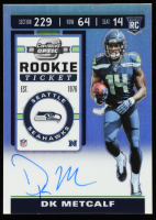 D.K. Metcalf 2019 Panini Contenders Optic Rookie Ticket Autographs #114 at PristineAuction.com