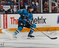 Brenden Dillon Signed Sharks 16x20 Photo (Fanatics Hologram) at PristineAuction.com