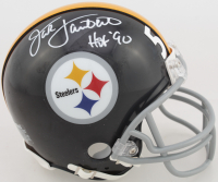 "Jack Lambert Signed Steelers Mini Helmet Inscribed ""HOF '90"" (Beckett COA) at PristineAuction.com"