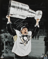 Carl Hagelin Signed Penguins 16x20 Photo (Steiner Hologram & Fanatics Hologram) at PristineAuction.com