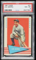 Lou Gehrig 1961 Fleer #31 (PSA 8) at PristineAuction.com