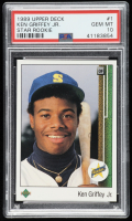 Ken Griffey Jr. 1989 Upper Deck #1 RC (PSA 10) at PristineAuction.com