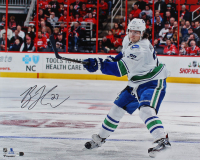 Ben Hutton Signed Canucks 16x20 Photo (Fanatics Hologram) at PristineAuction.com