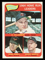 Harmon Killebrew / Mickey Mantle / Boog Powell 1965 Topps #3 AL Home Run Leaders at PristineAuction.com