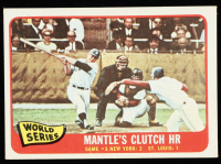 Mickey Mantle 1965 Topps #134 World Series Game 3 at PristineAuction.com