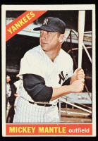 Mickey Mantle 1966 Topps #50 DP at PristineAuction.com