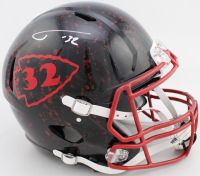 Tyrann Mathieu Signed Chiefs Full-Size Authentic On-Field Hydro-Dipped Speed Helmet (JSA COA) at PristineAuction.com