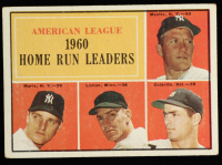 Mickey Mantle / Roger Maris / Jim Lemon / Rocky Colavito 1961 Topps #44 AL Home Run Leaders at PristineAuction.com