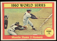 Mickey Mantle 1961 Topps #307 World Series Game 2 at PristineAuction.com