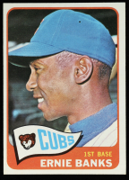 Ernie Banks 1965 Topps #510 at PristineAuction.com