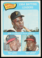 Roberto Clemente / Hank Aaron / Rico Carty 1965 Topps #2 NL Batting Leaders at PristineAuction.com