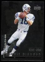 Peyton Manning 1998 Black Diamond Rookies #91 RC at PristineAuction.com