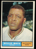 Willie Mays 1961 Topps #150 at PristineAuction.com