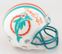 "Mark ""Super"" Duper Signed Dolphins Mini Helmet (JSA COA) at PristineAuction.com"
