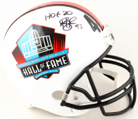 """Troy Polamalu Signed Pro Football Hall of Fame Full-Size Helmet Inscribed """"HOF 20"""" (Beckett COA) at PristineAuction.com"""