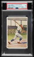 Babe Ruth 1932 Sanella Margarine #83B Type 2 (PSA 1) at PristineAuction.com