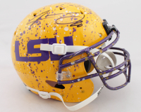 Jarvis Landry Signed LSU Tigers Full-Size Authentic On-Field Hydro Dipped Helmet (JSA COA) at PristineAuction.com