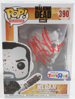 "Jeffrey Dean Morgan Signed ""The Walking Dead"" #390 Negan B&W Funko Pop! Vinyl Figure (Beckett COA) at PristineAuction.com"