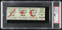 Woodstock Authentic Three Day Unused Ticket from August 15, 16, 17, 1969 (PSA 9) at PristineAuction.com