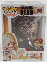 """Melissa Cowan Signed """"The Walking Dead"""" #16 Bicycle Girl Funko Pop! Vinyl Figure Inscribed """"Bicycle Girl"""" (Beckett COA) at PristineAuction.com"""