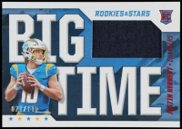 Justin Herbert 2020 Rookies and Stars Big Time Materials #3 at PristineAuction.com