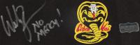 "William Zabka Signed ""The Karate Kid"" Cobra Kai Headband Inscribed ""No Mercy!"" (Radtke COA) at PristineAuction.com"