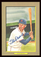 Stan Musial Signed LE Great Moments Perez-Steele Galleries #11 Postcard (JSA COA) at PristineAuction.com