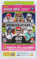 2020 Panini Rookies & Stars Football Hanger Box with (60) Cards at PristineAuction.com