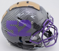 Ray Lewis Signed Full-Size Authentic On-Field Hydro-Dipped F7 Helmet (Beckett COA) at PristineAuction.com