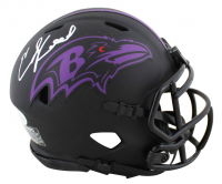 Ed Reed Signed Ravens Eclipse Alternate Speed Mini Helmet (Beckett COA) at PristineAuction.com