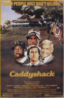 "Chevy Chase Signed ""Caddyshack"" 24x36 Poster (Beckett COA) at PristineAuction.com"