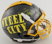 Cameron Heyward Signed Full-Size Authentic On-Field Hydro-Dipped F7 Helmet (Beckett COA) at PristineAuction.com