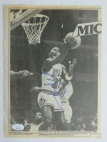 Michael Jordan Signed Bulls 8x11 Newspaper Page (Beckett LOA) at PristineAuction.com