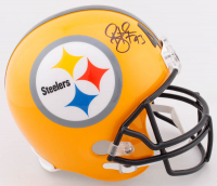 Troy Polamalu Signed Steelers Full-Size Helmet (Beckett COA) at PristineAuction.com